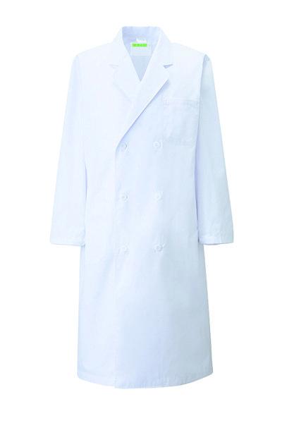 メンズ診察衣W型長袖