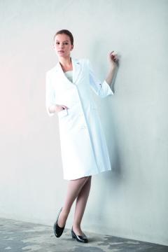 ユニフォームや制服・事務服・作業服・白衣通販の【ユニデポ】レディス診察衣