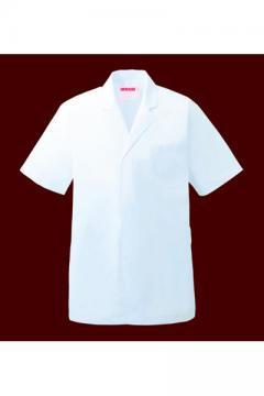 作業服の通販の【作業着デポ】衿付調理衣半袖