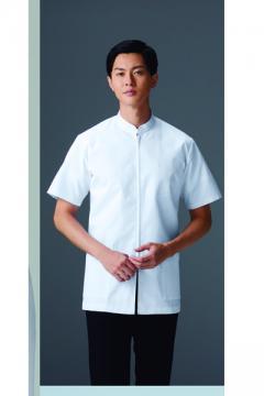 エステサロンやリラクゼーションサロン用ユニフォームの通販の【エステデポ】メンズ医務衣半袖