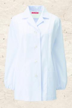 作業服の通販の【作業着デポ】衿付調理衣(長袖)