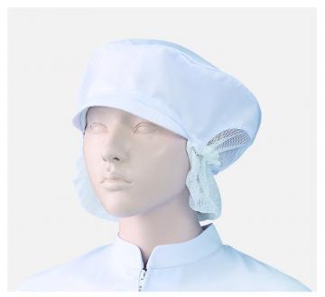 ユニフォームや制服・事務服・作業服・白衣通販の【ユニデポ】女子帽子深型たれ付(2枚入)