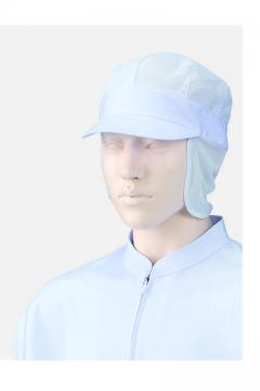 作業服の通販の【作業着デポ】八角帽子オールメッシュ(2枚入)