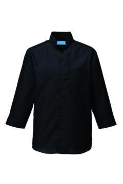 コックコート・フード・飲食店制服・ユニフォームの通販の【レストランデポ】シャツ七分袖(男女兼用)