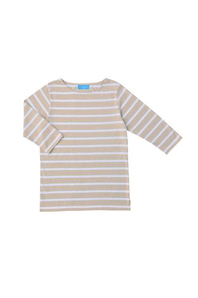 ボーダーTシャツ七分袖