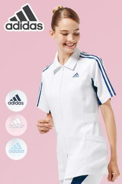 ユニフォームや制服・事務服・作業服・白衣通販の【ユニデポ】【adidas】アディダス レディスジャケット