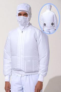 白衣ブルゾン空調風神服(単品)(制電・消臭)