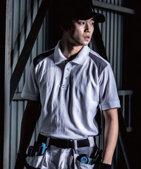 【BLAKLADER(ブラックラダー)】半袖ポロシャツ