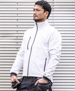 【BLAKLADER】防風ストレッチソフトシェルジャケット
