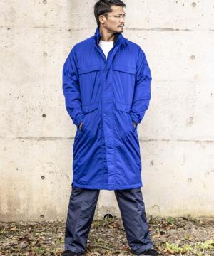作業服の通販の【作業着デポ】【7色】透湿防水スーパーロングコート