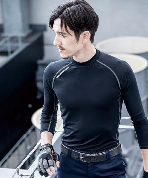 【WEB限定特価】強力消臭ロングスリーブインナーシャツ(メンズ)