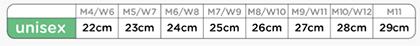 【全3色】crocsサンダル(クロックバンド) サイズ詳細