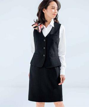 事務服用ユニフォームの通販の【事務服デポ】タイトスカート(Lienシリーズ)
