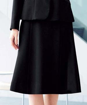 【2色】Aラインスカート(ロング)(ファインクロス)(60cm丈/9号)