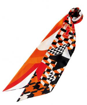 事務服用ユニフォームの通販の【事務服デポ】【4色】スカーフ(12×150㎝)