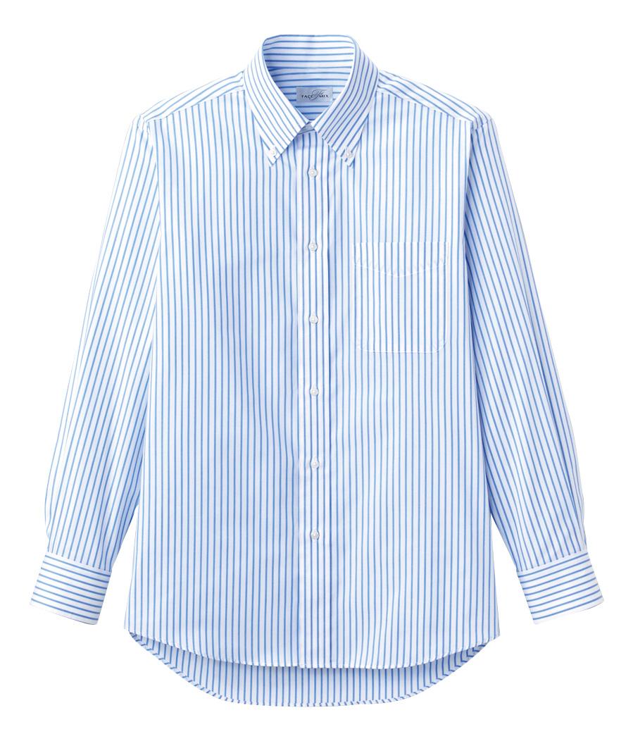 【全9色】ストライプシャツ(長袖)