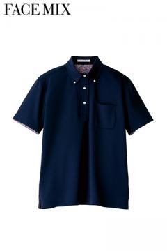 コックコート・フード・飲食店制服・ユニフォームの通販の【レストランデポ】メンズポロシャツ(花柄B)