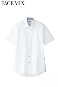 メンズ吸収速乾ニット半袖シャツ