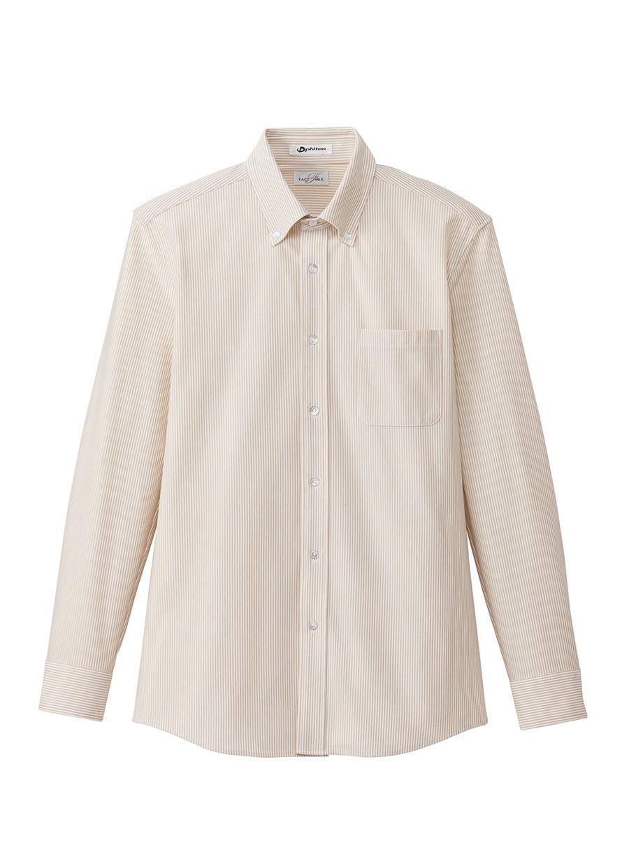 メンズニット吸汗速乾長袖シャツ