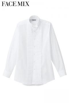 メンズピンタックウイングシャツ