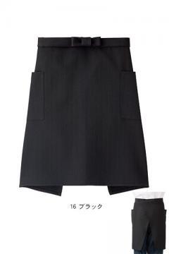 【全3色】ロングエプロン(退色防汚/丈55cm)※来期廃番※