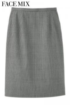 レディスストレッチスカート(グレンチェック)