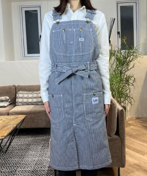 作業服の通販の【作業着デポ】【Lee】オーバーオールエプロン