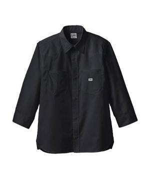 【Lee】ユニセックス七分袖シャツ