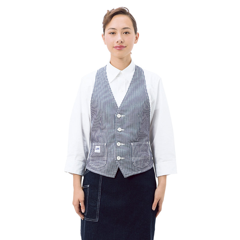 【Lee】カマーベスト(男女兼用/~4Lまであり)