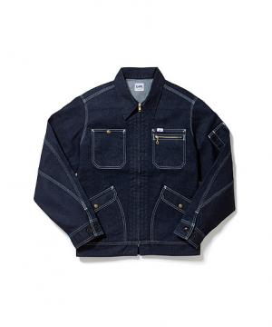 作業服の通販の【作業着デポ】【Lee】メンズジップアップジャケット