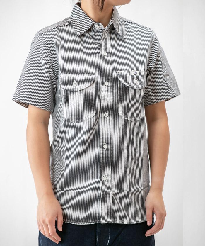 【Lee】レディースワーク半袖シャツ