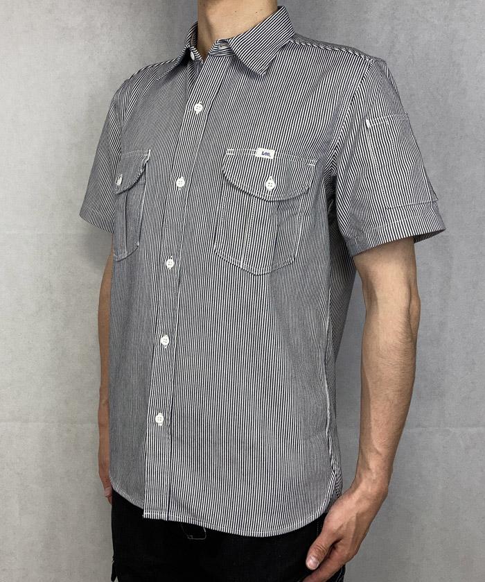 【Lee】メンズワーク半袖シャツ