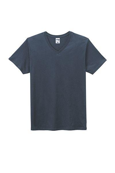 オーガニックコットンVネックTシャツ