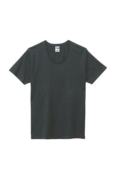 オーガニックコットンUネックTシャツ