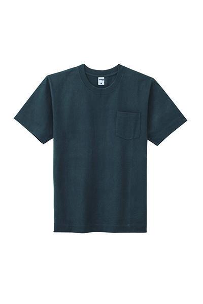 10.2オンスヘビーウエイトポケット付きTシャツ