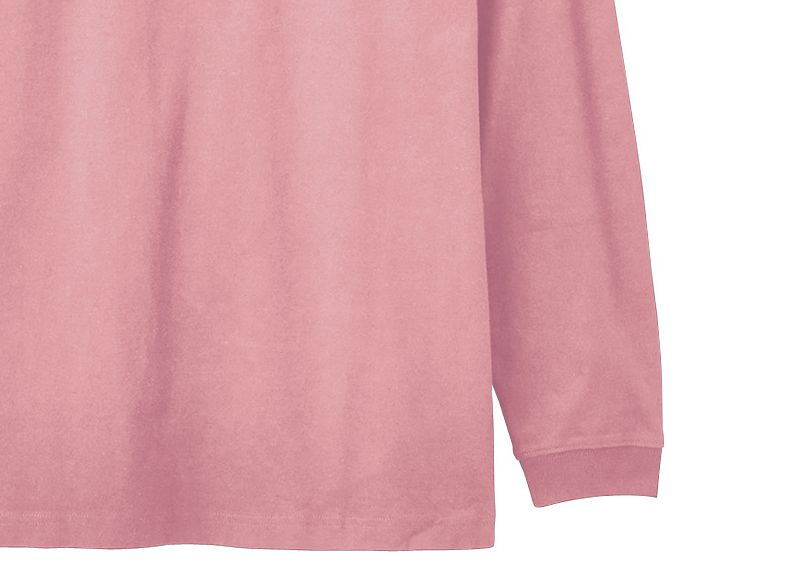 6.2オンスヘビーウエイトロングスリーブTシャツ