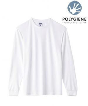 【全6色】ポリジン 4.3オンスドライロングスリーブTシャツ(抗菌防臭)