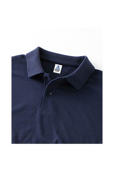 6.5オンスCVC鹿の子ドライポロシャツ(ポケットなし)