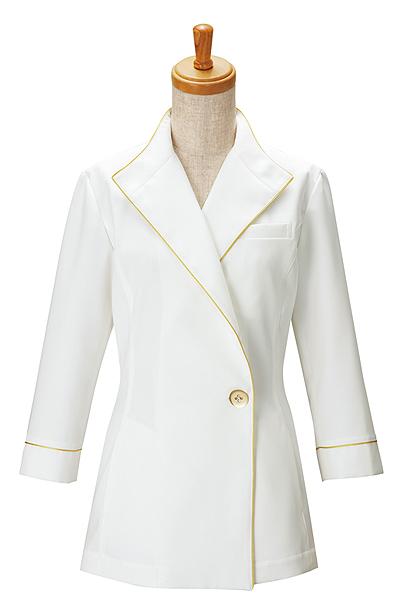 レディスジャケット白衣(七分袖)