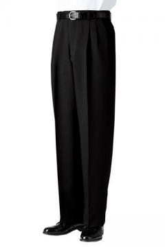 コックコート・フード・飲食店制服・ユニフォームの通販の【レストランデポ】メンズツータックスラックス
