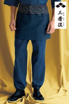 コックコート・フード・飲食店制服・ユニフォームの通販の【レストランデポ】【全6色】作務衣下衣(男女兼用)