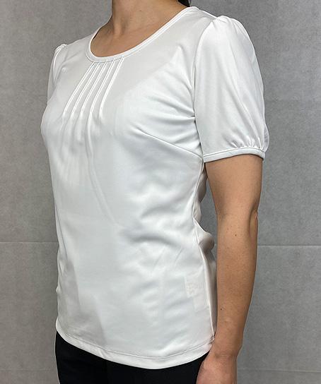 半袖カットソー(ストレッチ・透け防止・吸汗速乾)