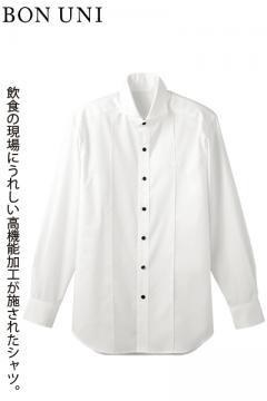ホリゾンタルカラー万能シャツ(多機能素材・男性用)