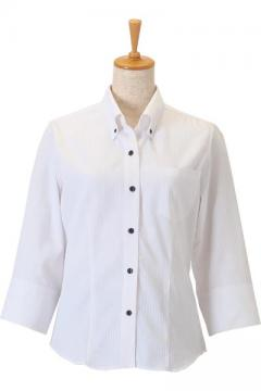 ユニフォームや制服・事務服・作業服・白衣通販の【ユニデポ】レディースボタンダウンシャツ