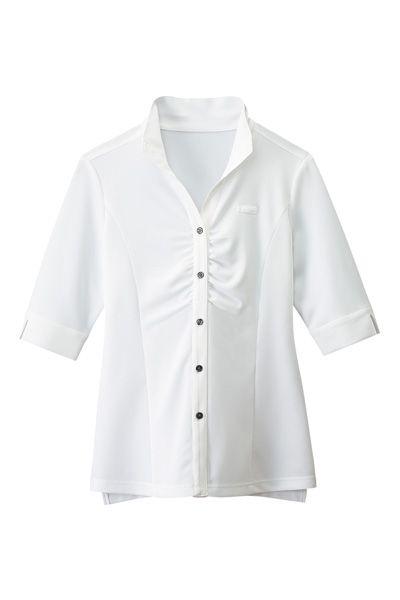 レディースウィングシャツ(五分袖)