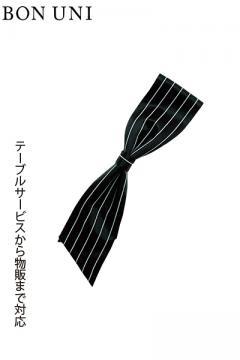 【4色】超撥水 ストライプ柄 ワンタッチコックタイ