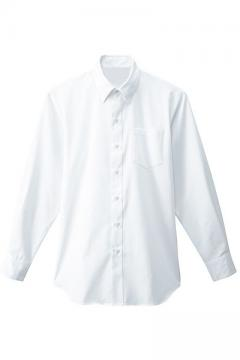 メンズシャツ(衿裏ボタン付き/長袖)