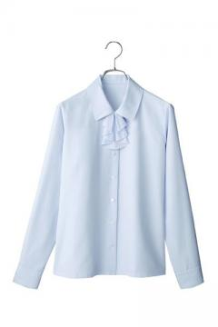 ユニフォームや制服・事務服・作業服・白衣通販の【ユニデポ】ブラウス(リボン付き)