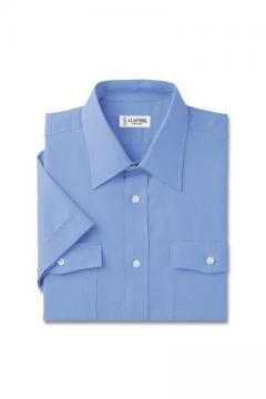 ユニフォームや制服・事務服・作業服・白衣通販の【ユニデポ】オックスフォード半袖シャツ