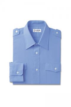 ユニフォームや制服・事務服・作業服・白衣通販の【ユニデポ】長袖シャツ(肩章付)